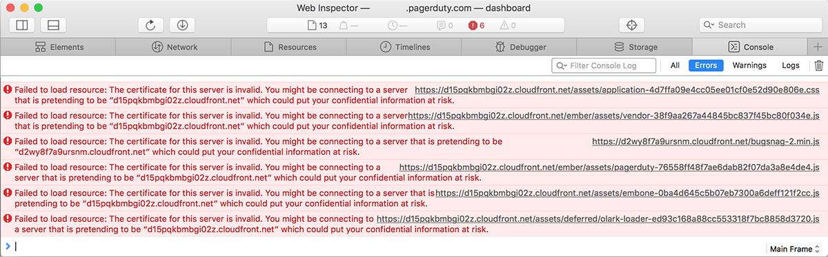 OS X El Capitan upgrade - Afterwork with Verisign certificates ...