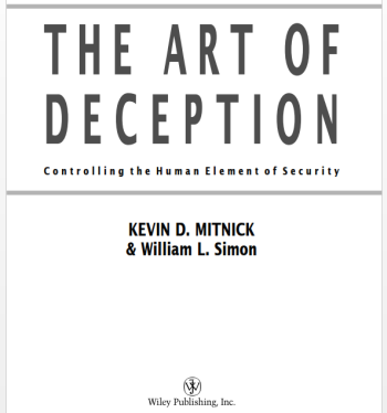 Book club: The Art of Deception: Controlling the Human Element of
