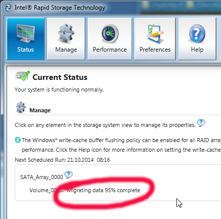 When It Finishes There Will Be Only One Drive Left