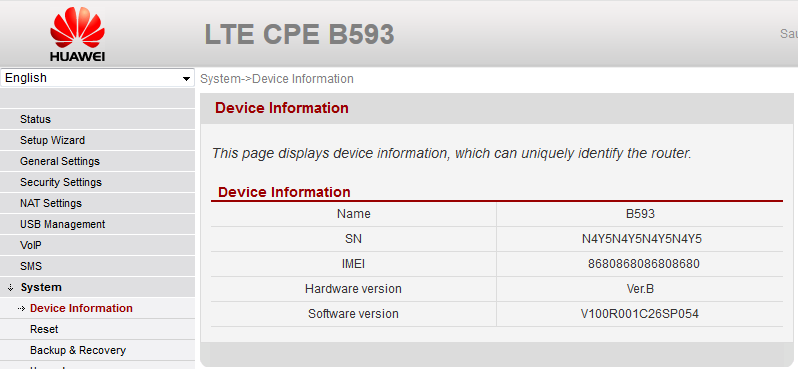Huawei B593 firmware from 3 Denmark - Hacker's ramblings