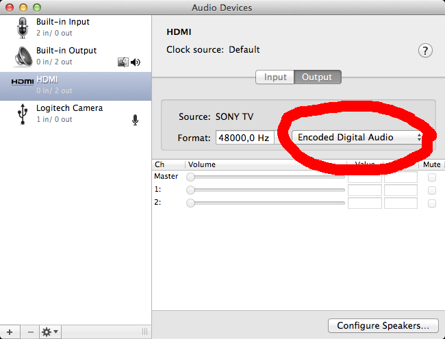 Mac OS X Dolby Digital 5 1 with Mac Mini [solved] - Hacker's ramblings