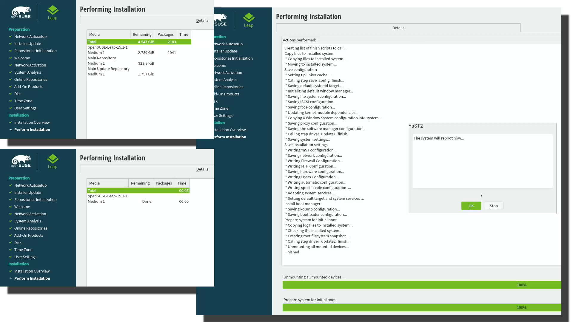 Installing openSUSE Leap 15 1 into a MacBook Pro with