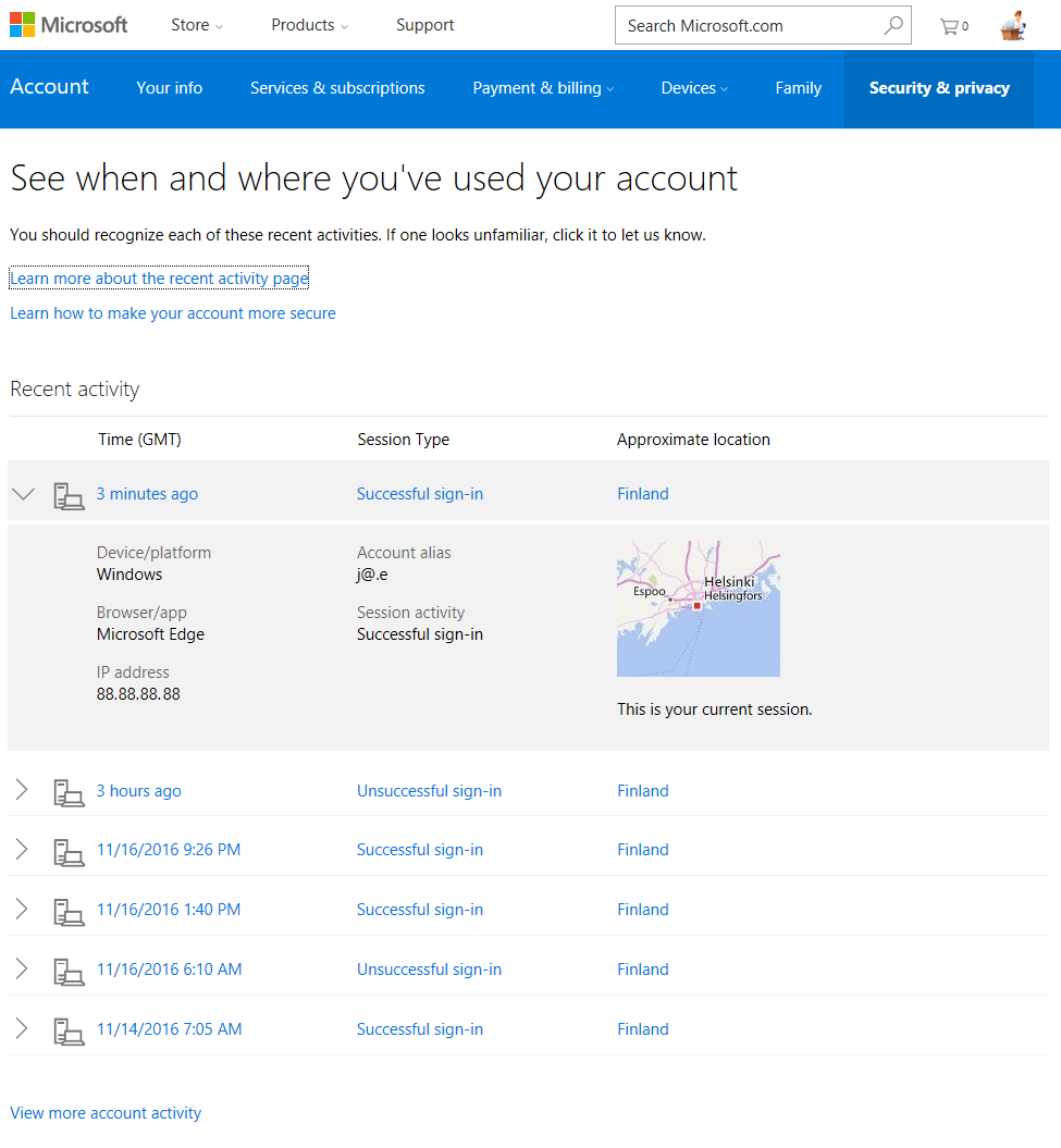 Skype login account - This Is What You Can Do Is Make Sure Your Microsoft Account Is Secure Login To Https Account Microsoft Com