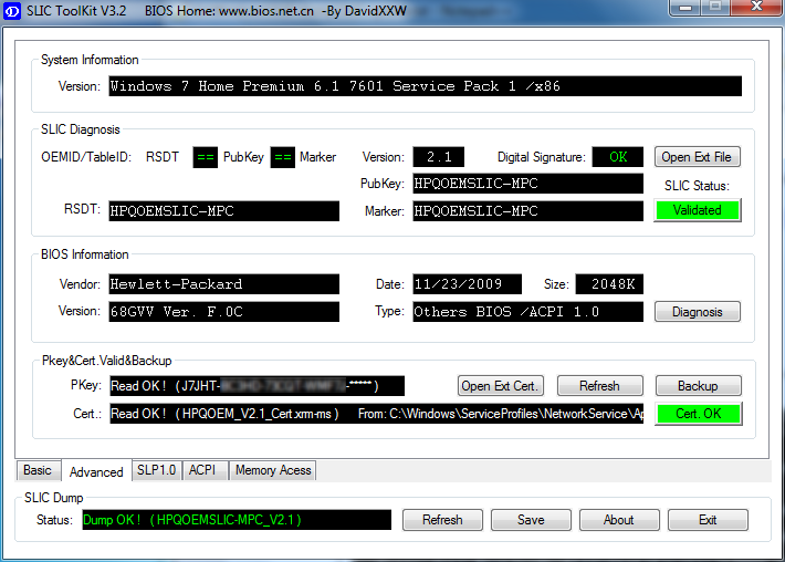 acpi driver windows 7 64 bit hp
