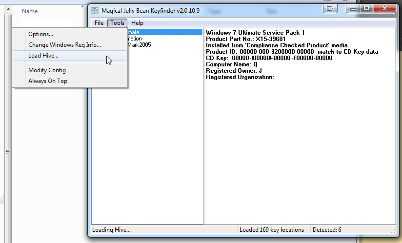 change windows 7 oem license key