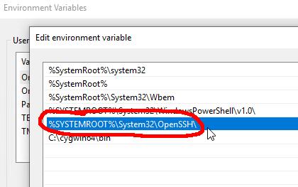 Windows 10 with Microsoft's OpenSSH - Hacker's ramblings